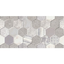 300*600*10 Cemento perht hexagon