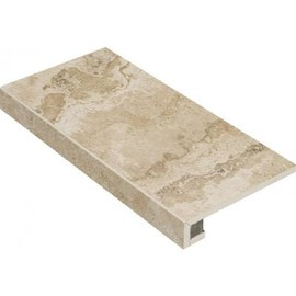 Плитка для ступеней Italon Natural Life Stone 60x33, Almond Угловая левая